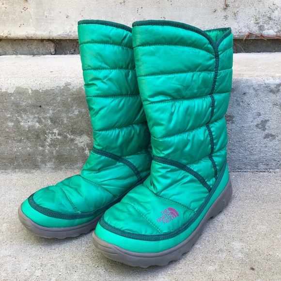 796ad30e5 The North Face Green Amore Water Resistant Boots